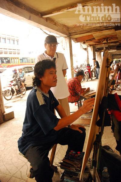 """""""Pelukis portet - truyền thần của người dân Indonesia"""" ảnh 8"""