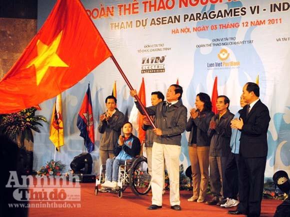 164 vận động viên khuyết tật tham dự Para Games VI ảnh 1
