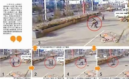 Trung Quốc: Thờ ơ nhìn kẻ máu lạnh đâm thiếu nữ 28 nhát dao ảnh 1