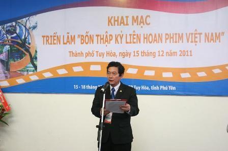 """Khai mạc Triển lãm """"Bốn thập kỷ Liên hoan Phim Việt Nam"""" ảnh 1"""