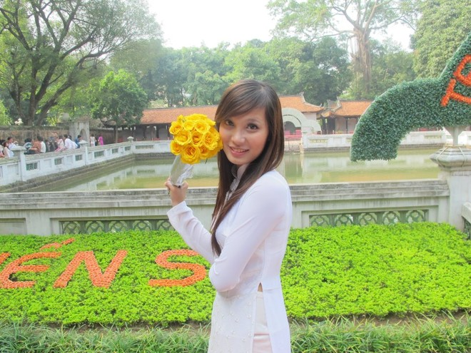 Miss TVPro khuấy động mạng facebook ảnh 6