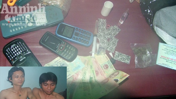 Bắt 7 đối tượng mua bán trái phép ma túy ảnh 1