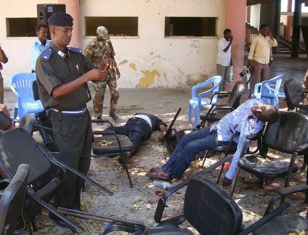 Ngày tang tóc của thể thao Somalia ảnh 1