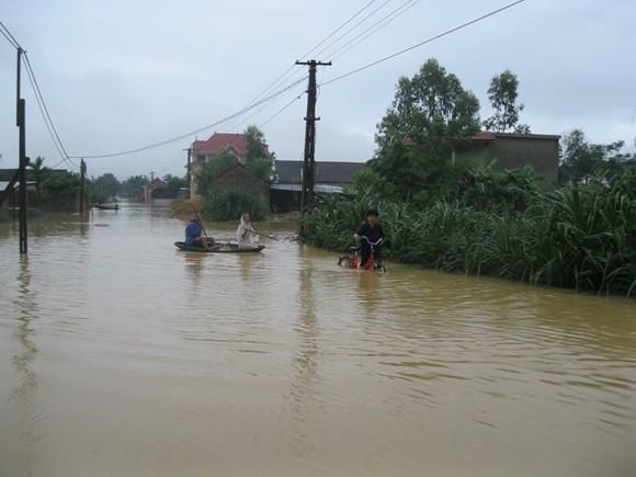 Hơn 5000 ngôi nhà nhấn chìm, 5 người chết, hàng chục người bị thương ảnh 1