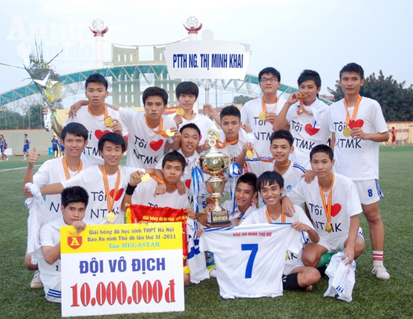 Những điều cần biết về Giải bóng đá học sinh THPT – Báo An ninh Thủ đô ảnh 1