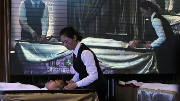 Dịch vụ spa… cho người chết ảnh 1