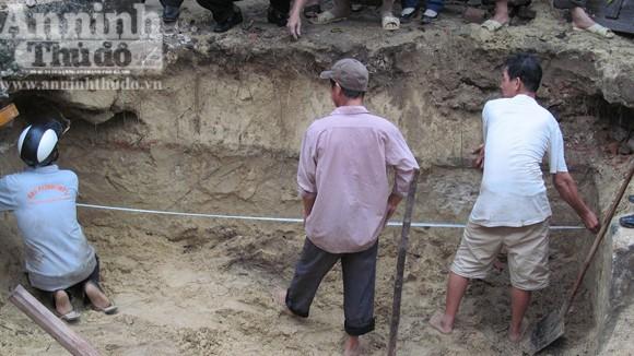 Đào móng nhà, phát hiện mộ cổ Công chúa Lý Kiều Oanh ảnh 1