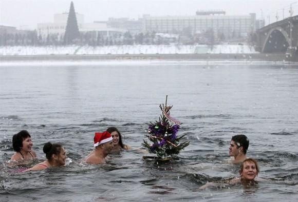 Người dân thế giới đón mừng năm mới 2013 ảnh 8
