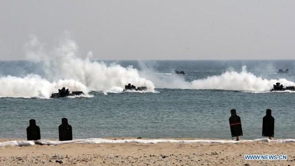Triều Tiên chuẩn bị cho cuộc tập trận quy mô lớn ảnh 2