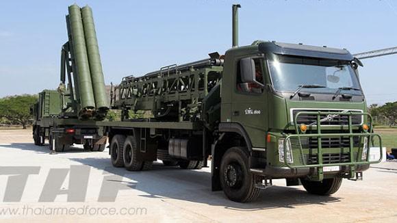 Lục quân Thái Lan phát triển hệ thống tên lửa đa nòng ảnh 1