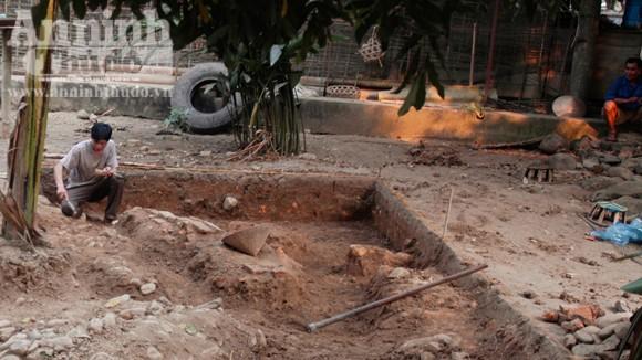 Phát hiện những dấu tích đầu tiên nghi là di tích thành Sam Mứn thời Lê ảnh 1