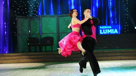 Yến Trang tỏa sáng với điệu nhảy Quickstep ảnh 1