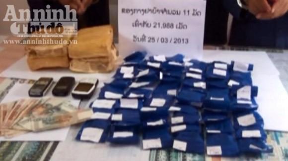 Phá đường dây vận chuyển ma túy tổng hợp cực lớn từ Lào về VN ảnh 2
