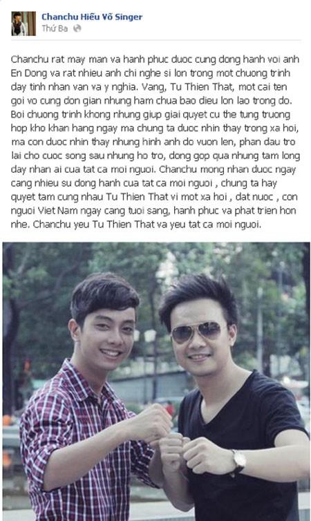 """Nghệ sĩ Việt đồng hành cùng """"Từ Thiện Thật"""" ảnh 15"""