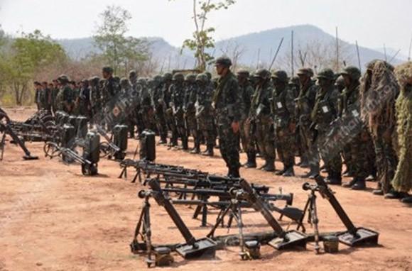 Thái Lan tổ chức diễn tập bắn đạn thật quy mô lớn ảnh 3