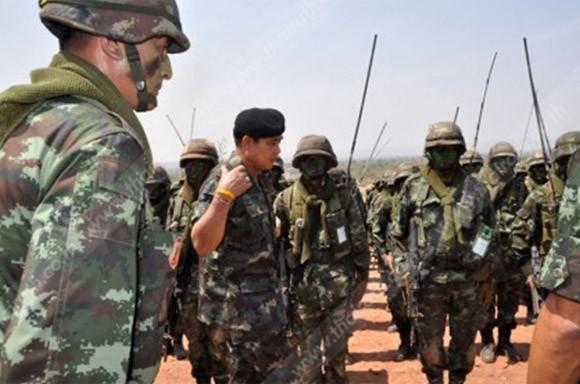 Thái Lan tổ chức diễn tập bắn đạn thật quy mô lớn ảnh 2