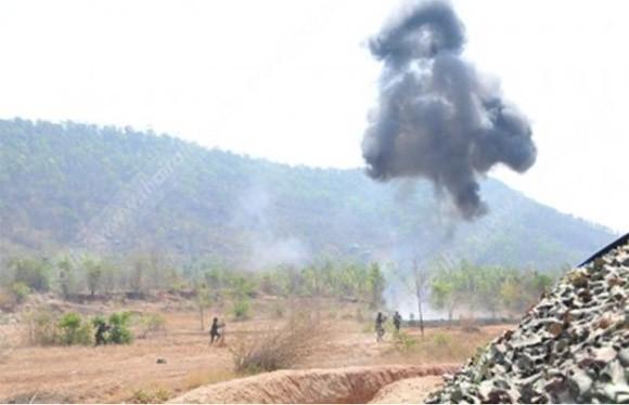 Thái Lan tổ chức diễn tập bắn đạn thật quy mô lớn ảnh 4