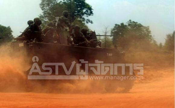 Thái Lan tổ chức diễn tập bắn đạn thật quy mô lớn ảnh 5