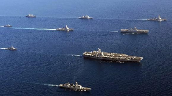 Mỹ và hơn 30 quốc gia cùng diễn tập hải quân lớn tại vùng vịnh Persian ảnh 1