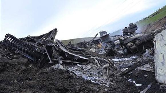 Tìm thấy 2 thi thể trong vụ nổ máy bay Mỹ ở Kyrgyzstan ảnh 1