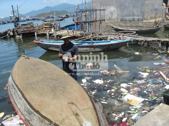 """Vô tư xả thải: vịnh Cam Ranh đang thành... """"biển thối"""" ảnh 3"""