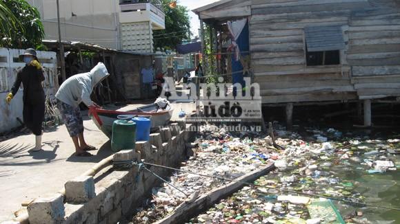"""Vô tư xả thải: vịnh Cam Ranh đang thành... """"biển thối"""" ảnh 1"""
