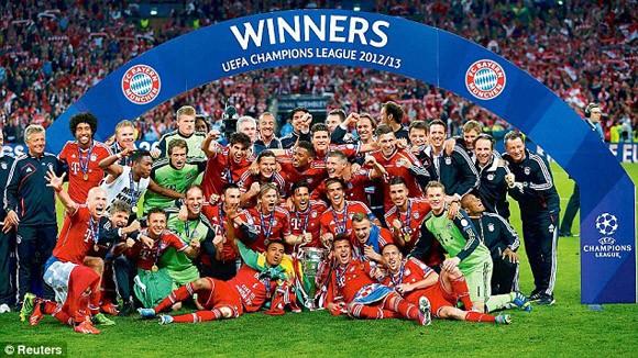Bayern trở thành đội bóng có giá trị thương hiệu lớn nhất thế giới ảnh 1