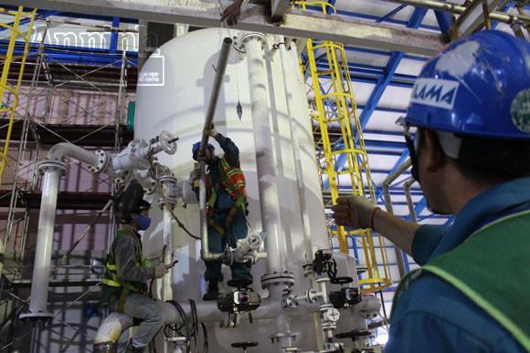 Khoảnh khắc trên công trường Nhà máy nhiệt điện Mông Dương 1 ảnh 7