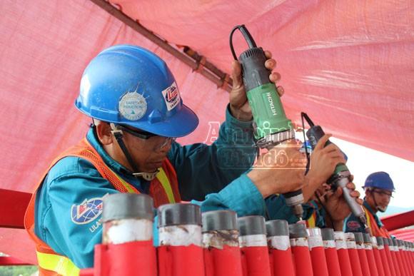 Khoảnh khắc trên công trường Nhà máy nhiệt điện Mông Dương 1 ảnh 5