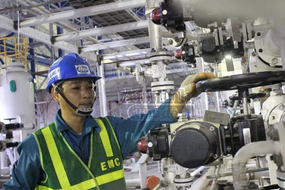 Khoảnh khắc trên công trường Nhà máy nhiệt điện Mông Dương 1 ảnh 4