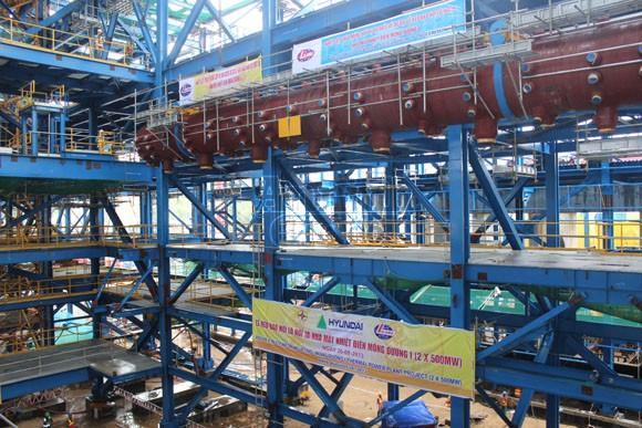 Khoảnh khắc trên công trường Nhà máy nhiệt điện Mông Dương 1 ảnh 2