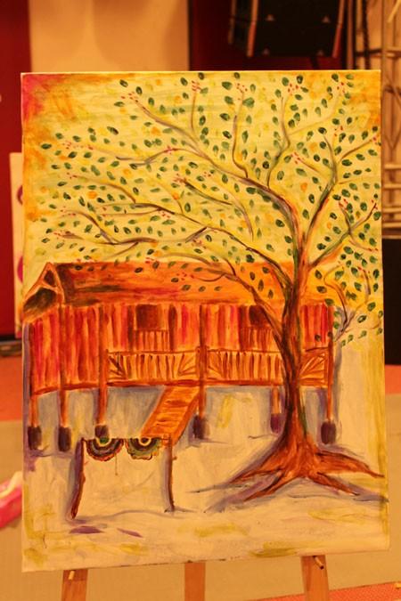 """Chung kết cuộc thi vẽ tranh """"Nhuộm màu cuộc sống"""" ảnh 10"""