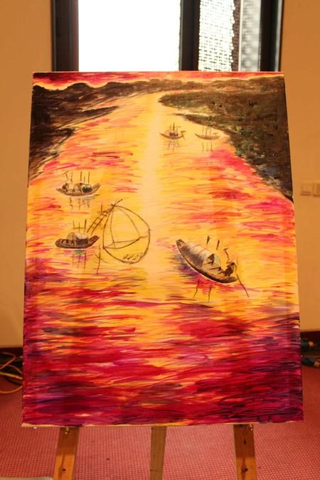 """Chung kết cuộc thi vẽ tranh """"Nhuộm màu cuộc sống"""" ảnh 13"""