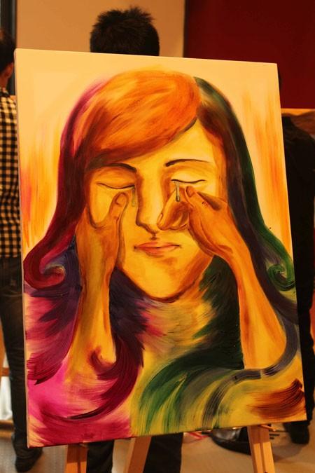 """Chung kết cuộc thi vẽ tranh """"Nhuộm màu cuộc sống"""" ảnh 11"""
