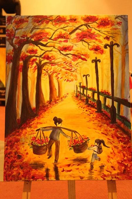 """Chung kết cuộc thi vẽ tranh """"Nhuộm màu cuộc sống"""" ảnh 12"""