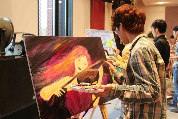 """Chung kết cuộc thi vẽ tranh """"Nhuộm màu cuộc sống"""" ảnh 6"""