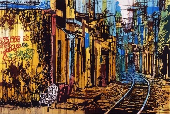 Hồn cốt Việt Nam trong tranh nhuộm màu Katazome ảnh 2