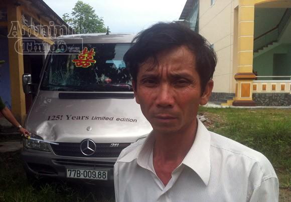 Bắt tài xế cán chết nữ phóng viên đi thông tin bão ảnh 1