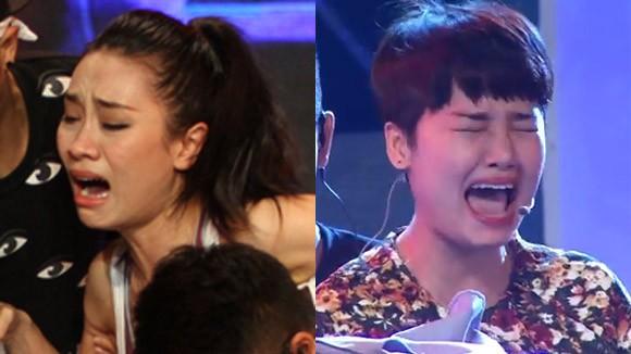 """Thử thách """"kinh hoàng"""" khiến Minh Thư, Miu Lê khóc thét ảnh 1"""