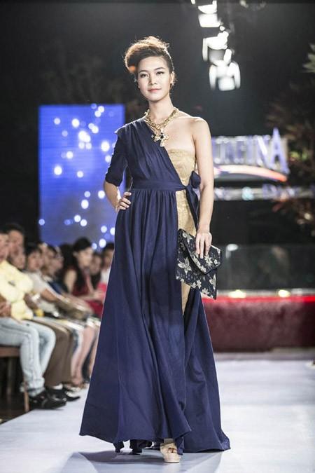 Hoa hậu Thùy Dung trở lại sàn catwalk sau thời gian dài vắng bóng ảnh 5
