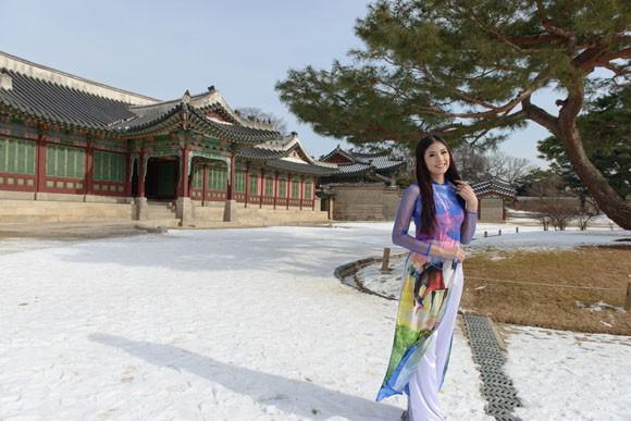 Hoa hậu Ngọc Hân quảng bá du lịch Việt Nam tại Hàn Quốc ảnh 6