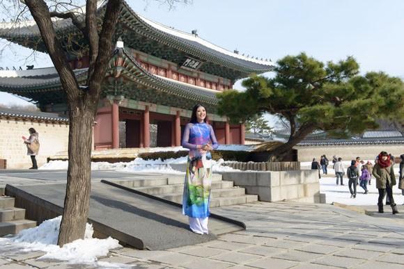 Hoa hậu Ngọc Hân quảng bá du lịch Việt Nam tại Hàn Quốc ảnh 2
