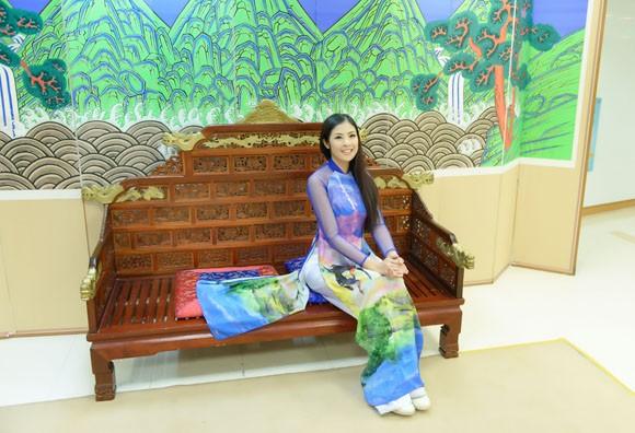 Hoa hậu Ngọc Hân quảng bá du lịch Việt Nam tại Hàn Quốc ảnh 8