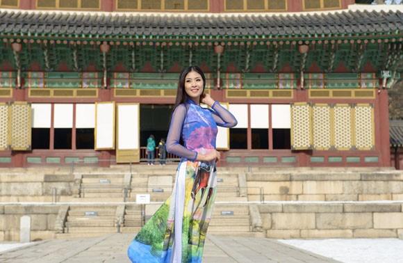 Hoa hậu Ngọc Hân quảng bá du lịch Việt Nam tại Hàn Quốc ảnh 3