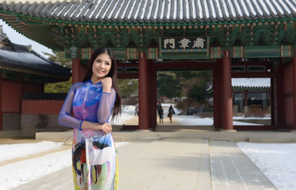Hoa hậu Ngọc Hân quảng bá du lịch Việt Nam tại Hàn Quốc ảnh 4