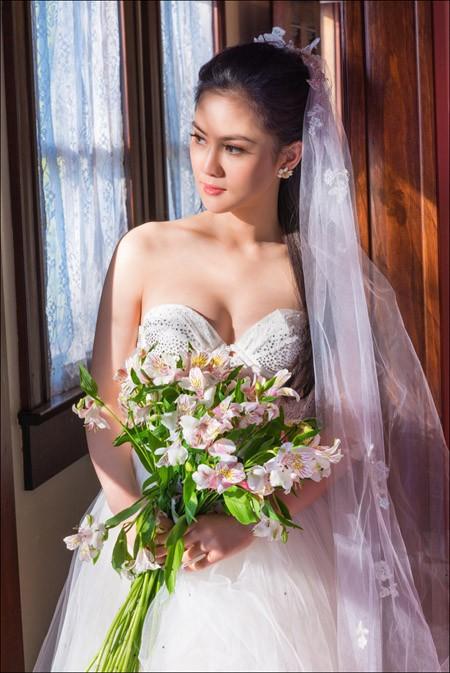 Hoa hậu Tristine Trâm Bùi mặc nội y khoe thân hình nóng bỏng ảnh 6