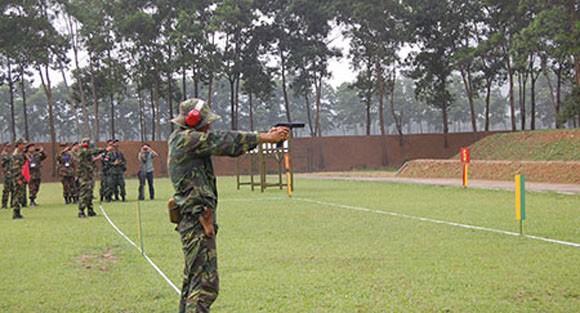 Đại biểu AARM -24, tham quan trung tâm huấn luyện Quốc gia Miếu Môn ảnh 2