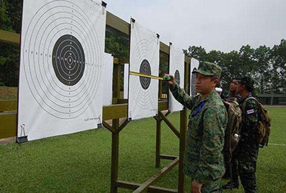 Đại biểu AARM -24, tham quan trung tâm huấn luyện Quốc gia Miếu Môn ảnh 3