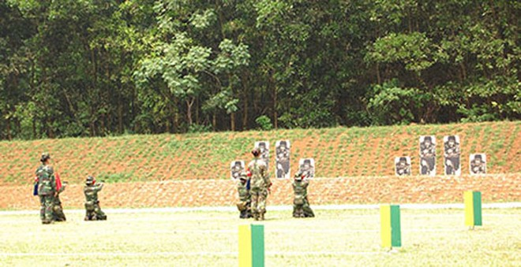 Đại biểu AARM -24, tham quan trung tâm huấn luyện Quốc gia Miếu Môn ảnh 10