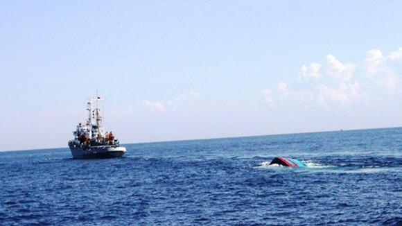 Tàu Trung Quốc dã man, bỏ mặc ngư dân Việt Nam sống chết giữa biển ảnh 1